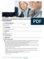 Du Consultant Organisation Management Detail