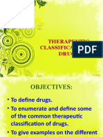 Therapeutic Classification of Drugs