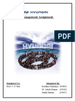 Operational Management of Hyundai