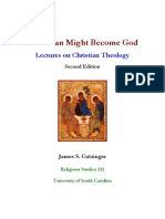 James S. Cutsinger - That Man Might Become God - Lectures on Christian Theology (2011)