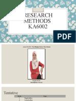Research Methods Intro
