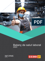 Informe Salut Laboral 2020 CCOO