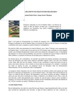 O desaparecimento de pequenos rios brasileiros