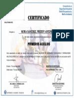 Primeros Auxilios Freddy Mora (17!07!2021)