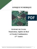 Support Algèbre de Bool et Circuits Combinatoires