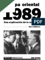 Europa Oriental 1989. Una explicación (1991) Alex Callinicos