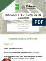 4 Taller Reciclaje y Reutilización en La Huerta