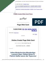 Page Web Card _ Inline-Skaterhockey-Bundesliga_ Laurens Ober, Fabian Ecker & Patrick Gaffal Waren Die Topscorer Des Wochenendes! – Hockey-News.info