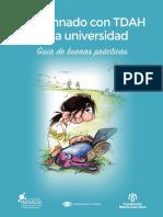 Guía TDAH. Universidad