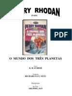 P-039 - O Mundo dos Três Planetas - K. H. Scheer