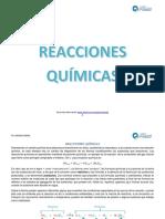 CLASE 16_REACCIONES QUIMICAS