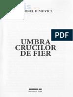 Cornel Dimovici - Umbra crucilor de fier (fragment)