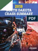 NDDOT 2019 Crash Summary