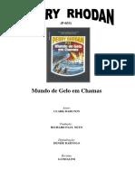 P-033 - Mundo de Gelo em Chamas - Clark Darlton