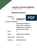 Marketing Plan of PEPSI[1]