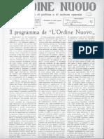 Ordine nuovo terza serie anno I - n. 03-04 - 1924