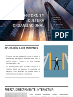Entorno y Cultura Organizacional