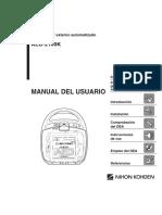 MANUAL DE USUARIO ESPAÑOL DEA-2100K-FREE