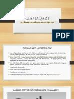 Ciamaqart Catalogo de Maquina Router CNC