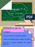 Clase Lunes 19 - 04