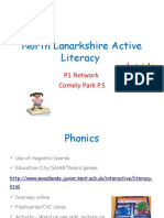 Primary 1 Active Literacy Network 2nd March 2011