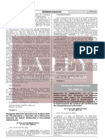 Resolucion Ministerial Nº 065-2021-TR