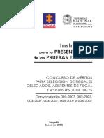 Instructivo Pruebas Escritas.pdf · Versión 1