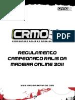 Regulamento - CRMO 2011