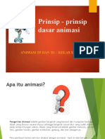 Animasi KD.1 Prinsip - Prinsip Dasar Animasi