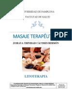 Documento Litoterapia