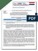 Educación Para La Seguridad Vial 31-08-2020