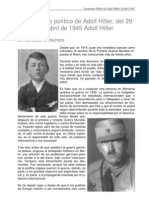 Testamento Politico Adolf Hitler