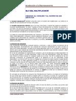 Tema 3 El Modelo Del Multiplicador