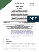 2021-04-20 City Council Special Session Agenda