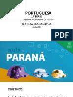 língua_portuguesa_1ºsérie_Slides aula 18