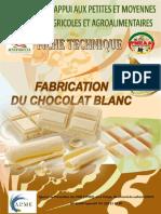 Fabrication du Chocolat blanc