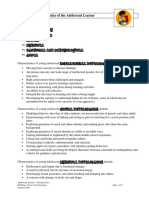 Characteristics of the Adolescent Learner (1)