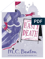 Hasty Death - M.C. Beaton