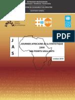 Journée Africaine de la Statistique 2009
