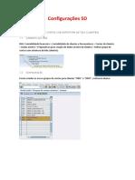 Configurações BP - SD e MM