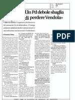 intervista a Chicco Testa - Il RIFORMISTA 08-03-2011