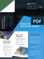 Project Halo AU$100K Grant