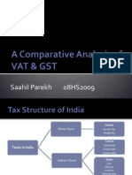 Comparative Analysis of VAT and GST