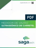 MANUAL MEDIDOR DE VAZÃO ULTRASSÔNICO DE CARRETEL