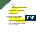 REQUERIMIENTO - PORTAFOLIO DOCENTE