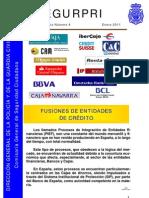 """Monográfico de Seguridad Privada 4 """"Fusiones de Entidades de Crécito"""""""
