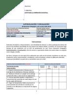 Autoevaluación y Coevaluación del II Momento 2020-2021