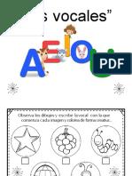 Conciencia Fonologica de Las Vocales Reconoce y Colorea (2)