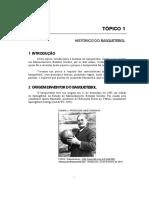 Slides - Histórico do Basquetebol