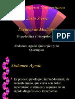 Abdomen Agudo Quirúrgico y No Quirúrgico (Equipo 1 Sandro y  - copia